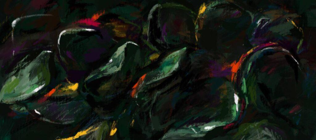 アート作品として飾りたくなる新生Aunaのkey visual。